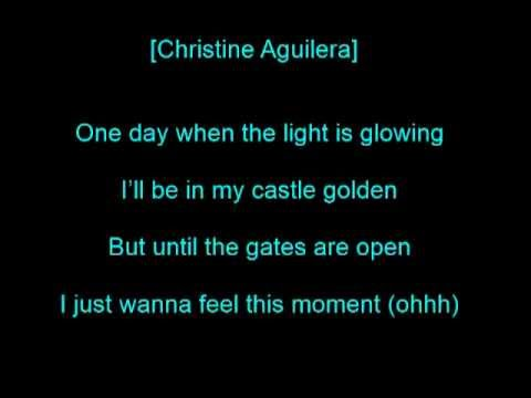 Pitbull feat. Christina Aguilera - Feel this moment (lyrics)