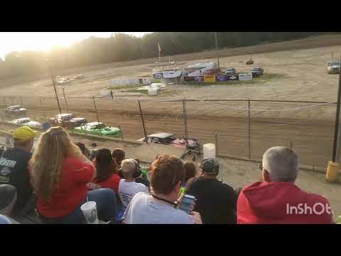 Street stock Heat #1 Butler Motor Speedway 7/28/18