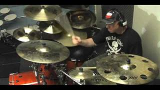 Richard Christy Of Charred Walls Of The Damned Talks Demonstrates Gear For CWOTD S July 2010 Tour