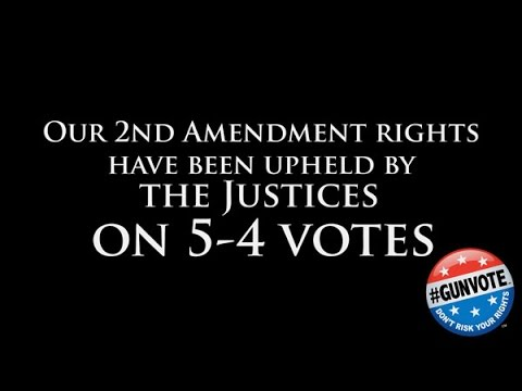 Your U.S. Senator Could Determine the Next Supreme Court Justice - #GUNVOTE