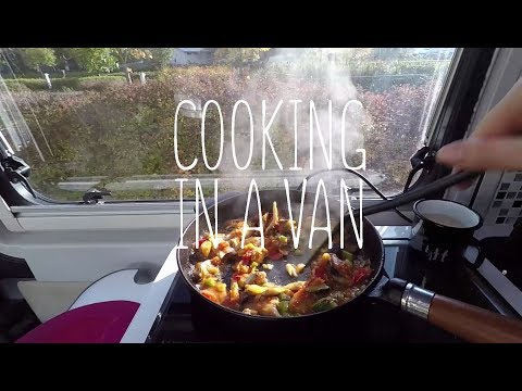 How to cook healthy cheap meals in a camper van