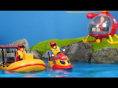 Feuerwehrmann Sam Deutsch: Neue Spielzeuge Für Beste Rettungsaktionen | Unboxing Auswahl Für Kinder