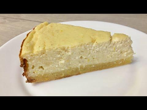 Лимонный творожный пирог. Почти как чизкейк.