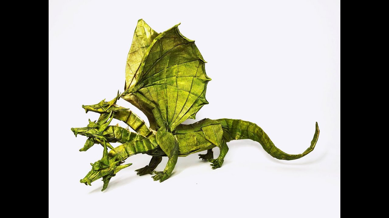 top 10 most amazing origami dragons of all time 2016