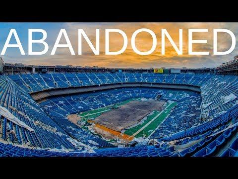 Abandoned - Pontiac Silverdome