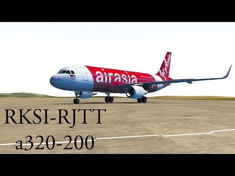 [Around the Globe Series] Incheon to Tokyo : AirAsia, a320 [Episode 15]