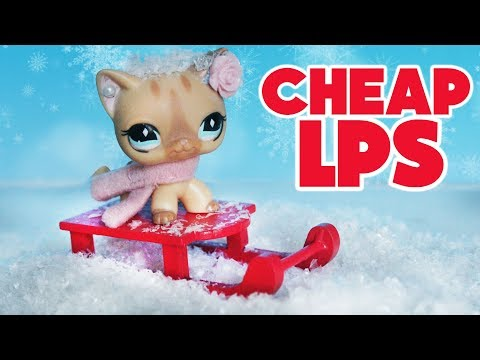 LPS Christmas Tiger Haul!❄️ Littlest Pet Shop Accessories on a Budget!