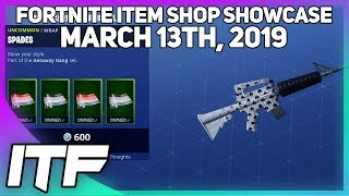 Fortnite Item Shop *NEW* WILD CARD WRAP BUNDLE! [March 13th, 2019] (Fortnite Battle Royale)