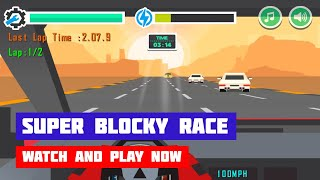 Super Blocky Race · Game · Gameplay