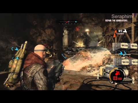 Red Faction: Armageddon - Insane Difficulty - Bastion: Finding Power Cells
