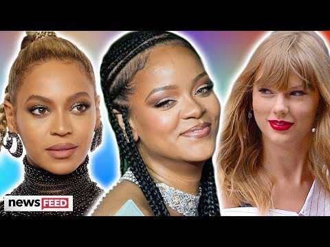 Rihanna BEATS Beyonce & Taylor Swift For Most Powerful Woman!