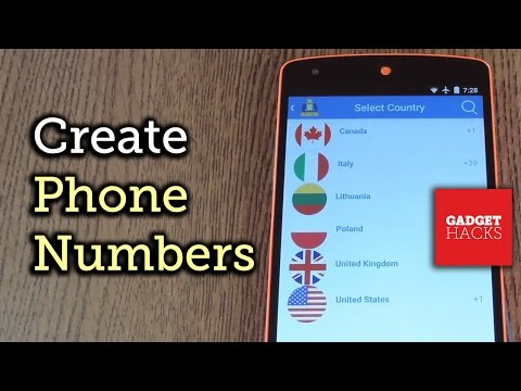 Get a Phone Number from Almost Anywhere in the World [How-To]
