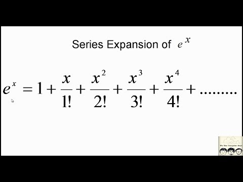 C Practical and Assignment Programs-e^x series expansion