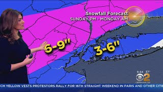New York Weather: CBS2 3/3 Morning Forecast at 8AM