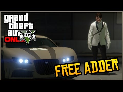 GTA 5 Online - How To Get An ADDER FOR FREE! (GTA 5 Glitches)