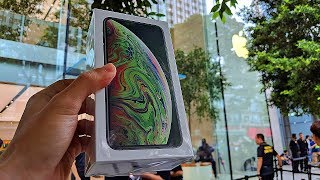 Gambar cover Beli iPhone Xs Max di Apple Store Singapur | iPhone Xs Max, Apple Watch 4 Unboxing Indonesia