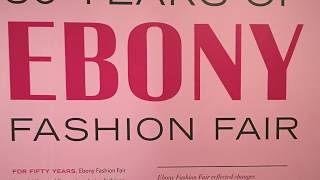 Fair exhibit fashion Ebony