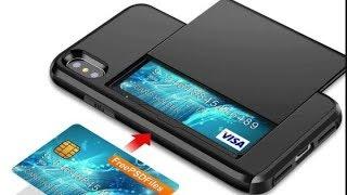 Чехол Samsung Galaxy S10. С ОТДЕЛЕНИЕМ ПОД КРЕДИТНЫЕ КАРТЫ