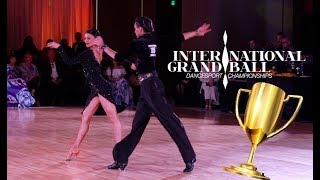 IGB 2018 | Pro Latin | RUS | NDCA | WDC | Ballroom Competition | Evgeny & Maria