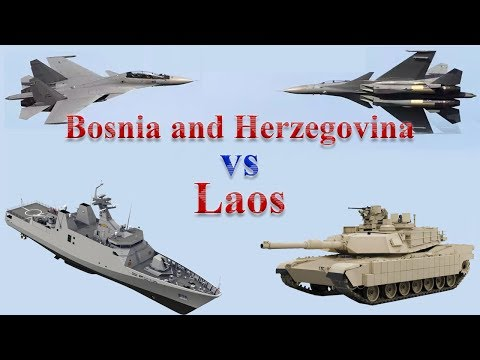 Bosnia and Herzegovina vs Laos Military Comparison 2017