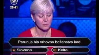Muhic Vesna Kviz Milioner-1deo
