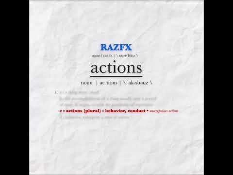 RAZFX - ACTIONS (Audio)