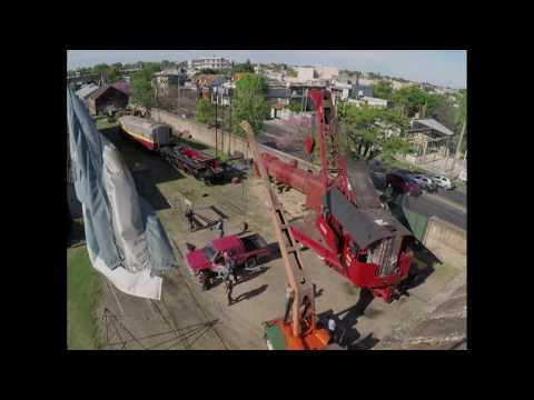 """Mounting: Locomotive Boiler. Montaje de Caldera Locomotora """"3925"""", Ferroclub Argentino Escalada."""