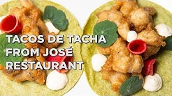 Flavored tortillas and fried mushrooms make this special taco from Jose restaurant