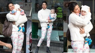 Priyanka Chopra adorable moment with cute baby latest Pics video Lifestyle story video