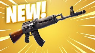 *NEW* Fortnite Heavy AR Gameplay! The New Weapon In Fortnite!