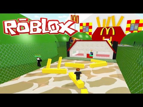 Roblox / Escape From McDonalds / No Employee's! / Gamer Chad Plays