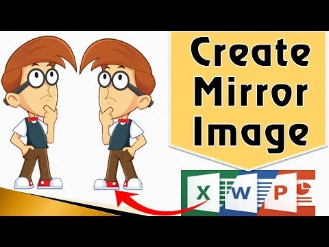 [MS-Office] How To Mirror An Image In Word | PowerPoint Mirror Image Or Text | PowerPoint Flip Image