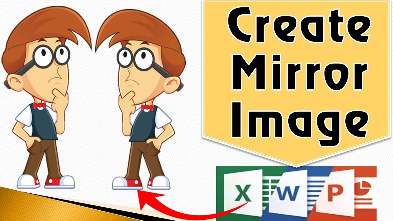 MS-Office How to Mirror an Image in word | PowerPoint ...