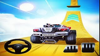 MOUNTAIN CLIMB STUNT GAME | Racing Games To Play - Car Racing Games Download - Children Games Free