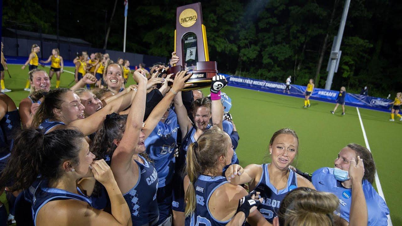 North Carolina wins the 2020-21 DI field hockey championship