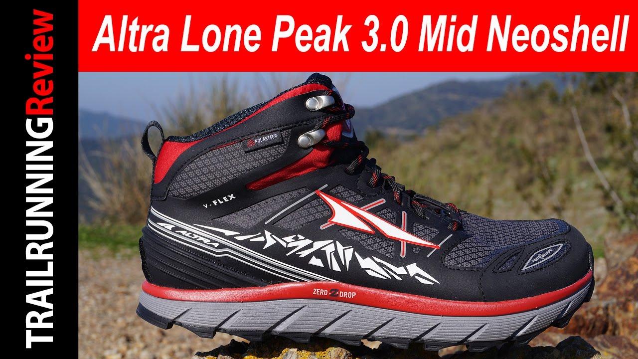 Altra Lone Peak 3.0 Mid Neoshell Review