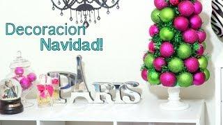 DIY MakeupRoom Decor Navidad