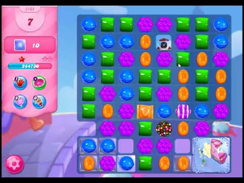 Candy Crush Saga Level 3105 - NO BOOSTERS