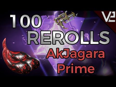 "Warframe - ""100"" Rerolls: AkJagara Prime thumbnail"