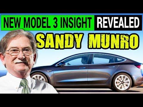 New Tesla Model 3 Insight Revealed by Teardown Guru Sandy Munro