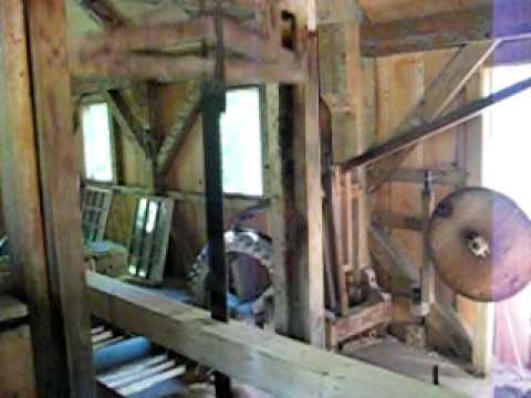 Mill Creek water-powered sawmill