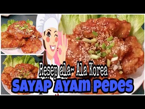 resep-sayap-ayam-pedas-simple-ala-korea