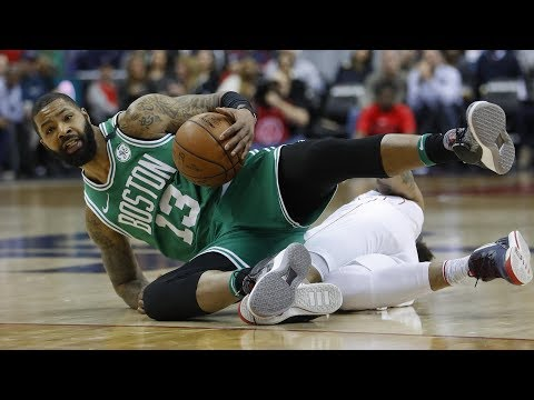 Greg Monroe Celtics Debut! Kyrie 13 Points 4th and OT! 2017-18 Season