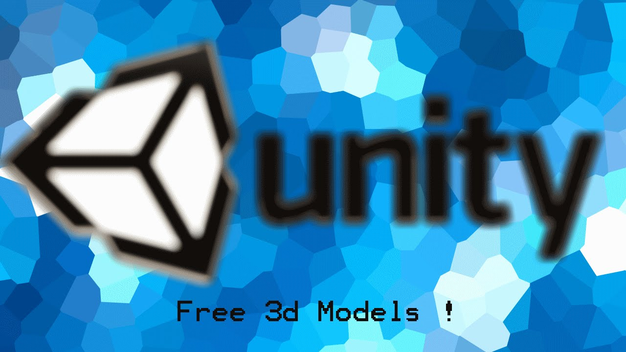 how to create 3d models for unity