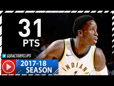 Victor Oladipo Full Highlights vs Sixers (2017.11.03) - 31 Pts, 7 Ast