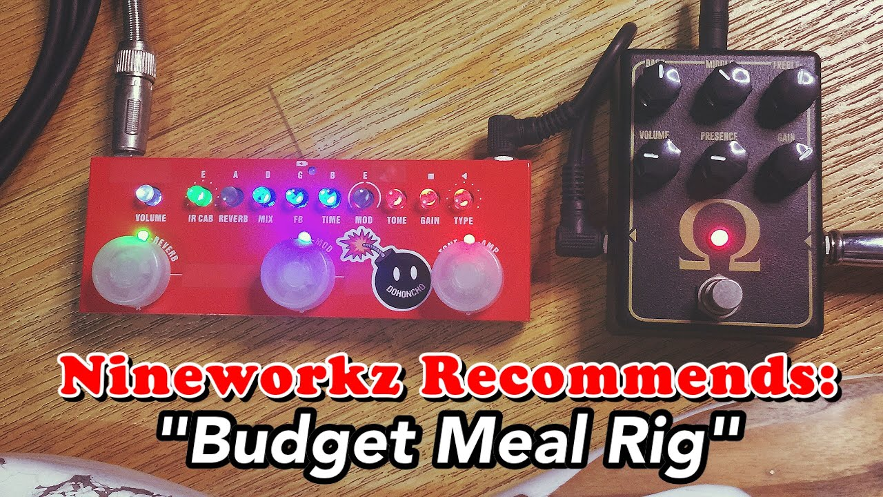 """Download Nineworkz Recommends - """"Budget Meal Rig"""""""