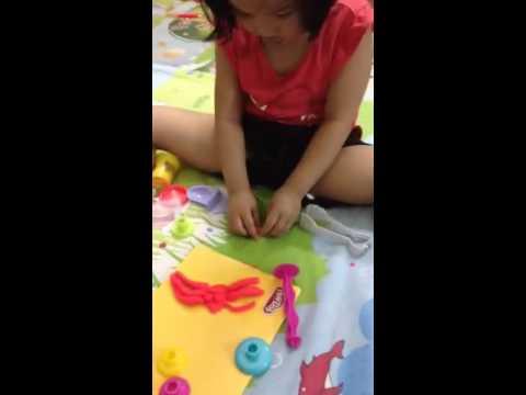 Xiu nan dat set hinh con nhen