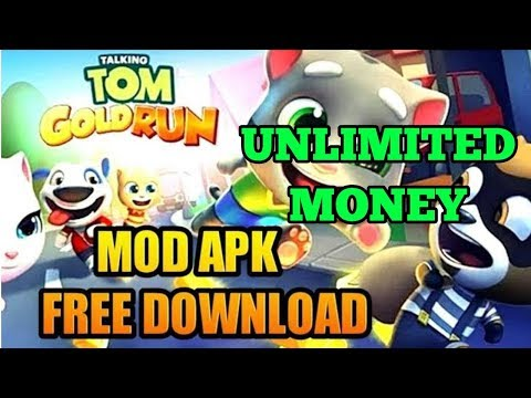 Talking Tom Gold Run Mod Apk (unlimited Gold Bars/Dynamite/Diamond)
