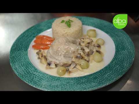 Mooc Cuisine Recette Fricassee De Volaille A L Ancienne Youtube