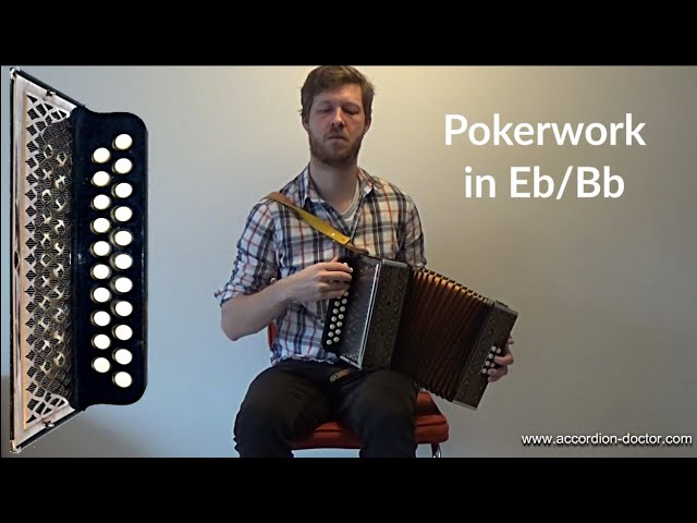 Tonder...The Eternal Friendship (Phil Cunningham) played on the Melodeon (Bb/Eb)